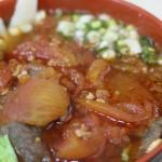 台湾で一番おいしいもの見つけた!トマト牛肉麺!