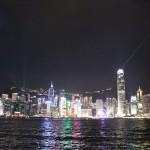 数時間の香港観光。ギネスにも載ってるシンフォニー・オブ・ライツを見てきた。