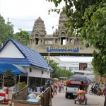 シェムリアップからバンコクへバスを使っての国境越え(カンボジア出国・タイ入国)