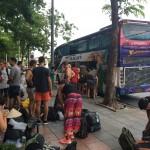 バンコクからチェンマイのバス移動について。盗難に注意!?