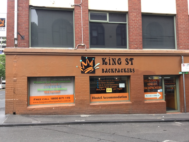 king street backpackers melbourne. Black Bedroom Furniture Sets. Home Design Ideas