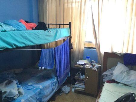 サンドラの家のドミトリー部屋
