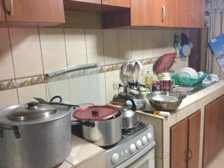サンドラの家のキッチン