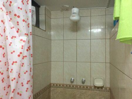 サンドラの家のシャワー