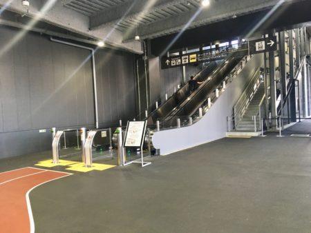 第3ターミナルのバス乗り場