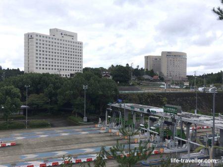 成田空港と成田駅の中間にある自主隔離ホテル