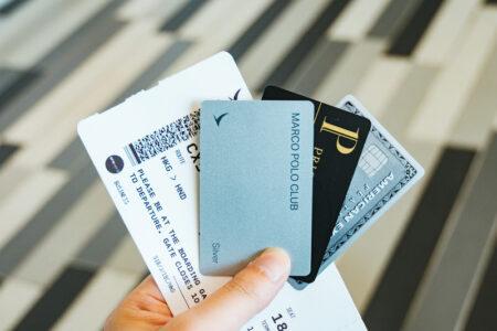 プライオリティパスが付帯するクレジットカードを発行して入手する方法