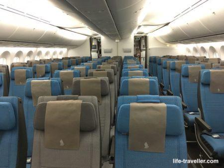 シンガポール航空の座席