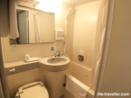 センターホテル成田1のバスルーム