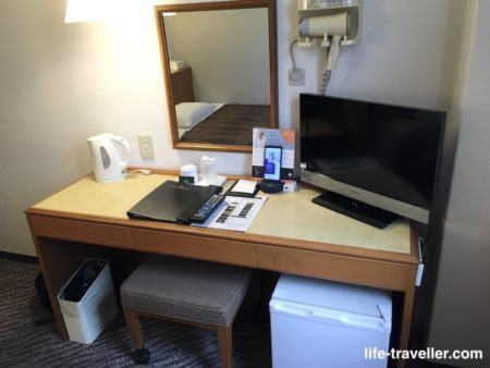 センターホテル成田1のデスク