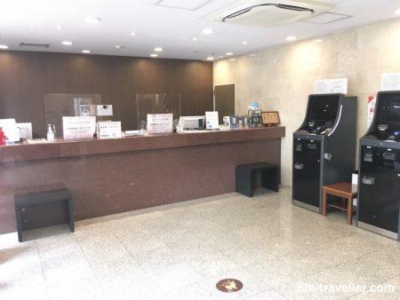 センターホテル成田1のフロント