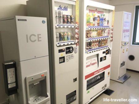 センターホテル成田1の自動販売機