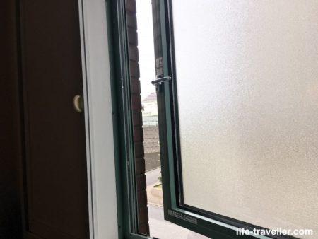 センターホテル成田1の部屋の窓