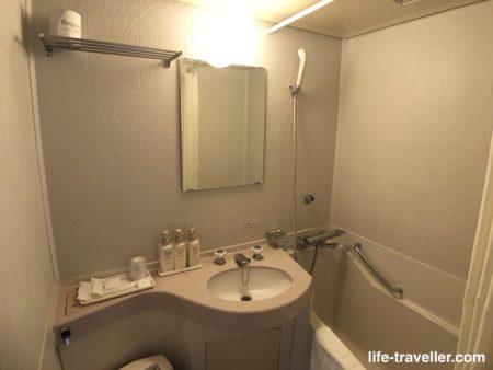 成田U-シティホテルのバスルーム