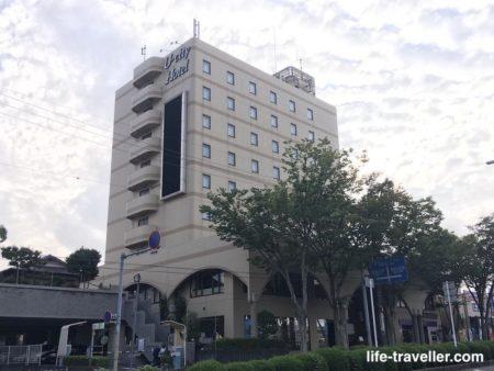 成田U-シティホテルの外観