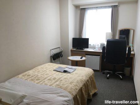 成田U-シティホテルのシングルルーム