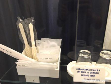 成田ビューホテルのバスアメニティ