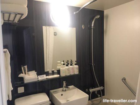 成田ビューホテルの浴室