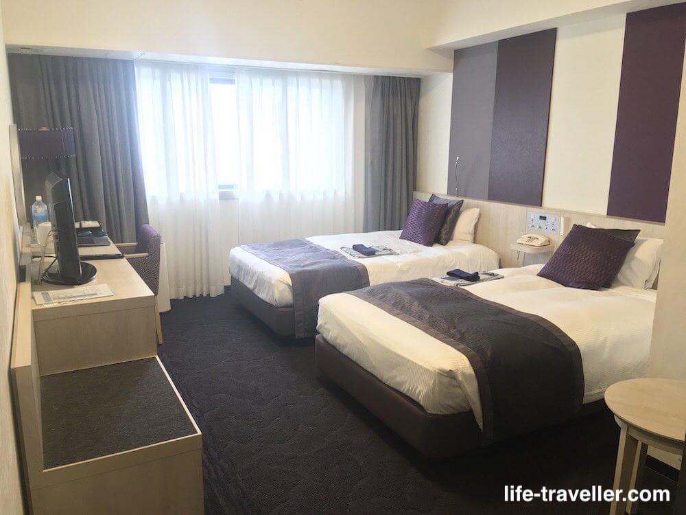 成田ビューホテルのツインルーム