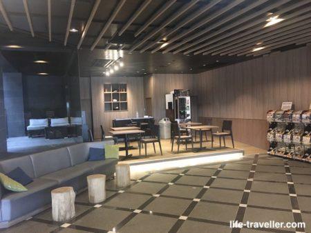 ザエディスターホテル成田の共有スペース