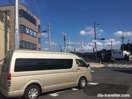 ザエディスターホテル成田の送迎バス