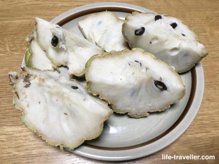 釈迦頭を日本で食べる